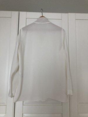 Windsor Blusa collo a cravatta bianco