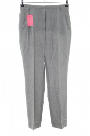 Windsor Bundfaltenhose hellgrau meliert Business-Look