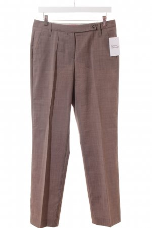 Windsor Bundfaltenhose braun Business-Look