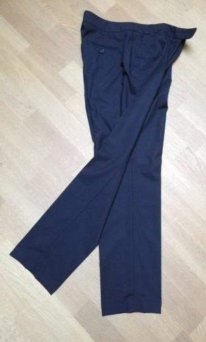 Windsor Pantalon à pinces noir coton