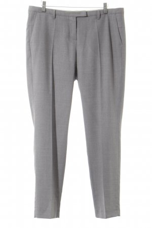 Windsor Bundfaltenhose grau Business-Look