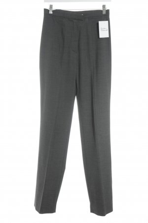 "Windsor Pantalón de pinza ""Nutria"" gris antracita"