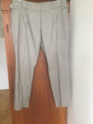 Windsor Bundfaltenhose schwarz/beige