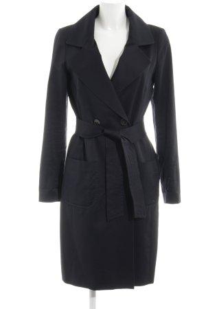 Windsor Abrigo de piloto negro elegante