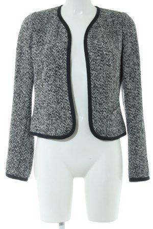 Windsor Cardigan schwarz-weiß meliert Casual-Look