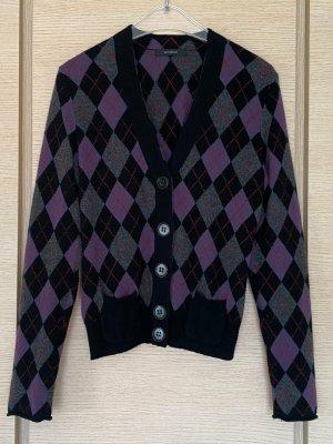 Windsor Cashmere Jumper brown violet-black