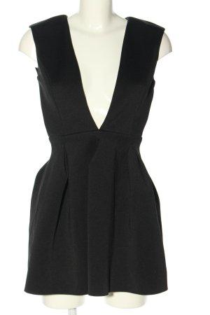 Windsor Robe découpée noir style décontracté