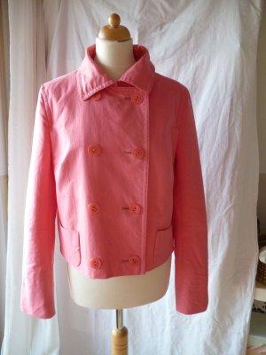 Windsor doppelreihige Jacke pink