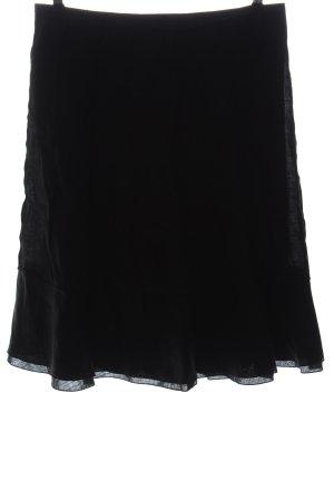 Windsor Flared Skirt black casual look