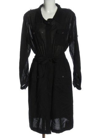Windsor Shirtwaist dress black casual look
