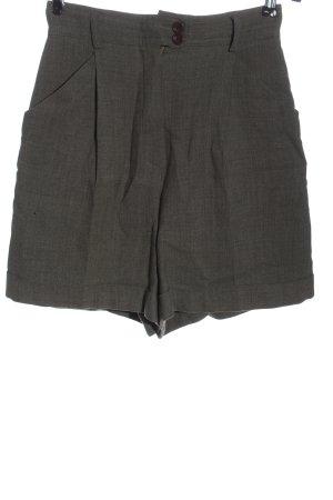 Windsor High-Waist-Shorts light grey business style