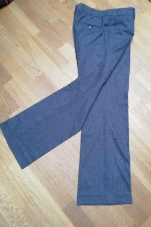 Windsor Woolen Trousers grey-dark grey wool