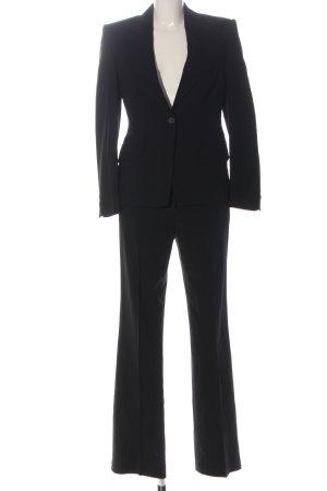 Windsor Trouser Suit black casual look