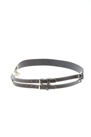 Windsor Cinturón de cadera negro estilo «business»