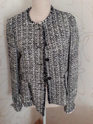 Windsor Veste en laine blanc-noir