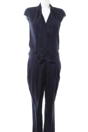 Windsor Jumpsuit blau Business-Look