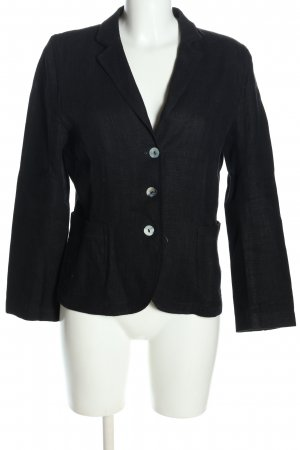 Windsor Kurz-Blazer schwarz Casual-Look