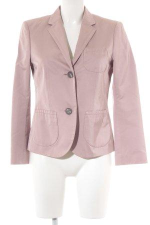 Windsor Kurz-Blazer roségoldfarben Webmuster Business-Look
