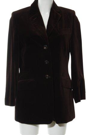 Windsor Kurz-Blazer schwarzbraun-dunkelbraun Business-Look