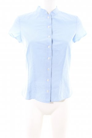 Windsor Short Sleeve Shirt blue-white check pattern casual look