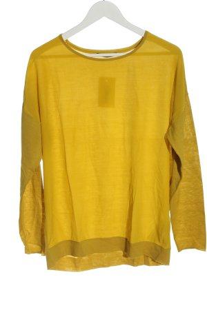 Windsor Long Sleeve Blouse light orange casual look