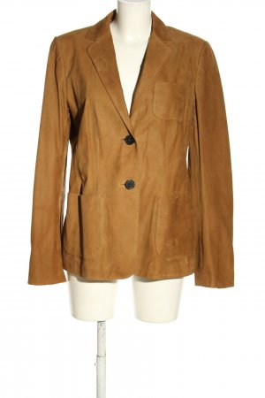 Windsor Leather Blazer brown casual look