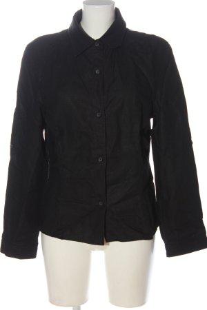 Windsor Linen Blouse black casual look