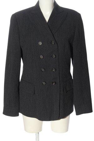 Windsor Long-Blazer schwarz-hellgrau meliert Business-Look