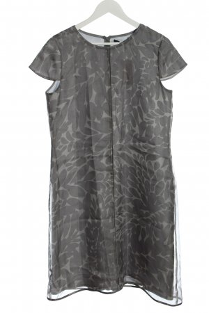 Windsor Blouse Dress light grey abstract pattern business style