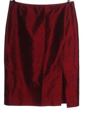 Windsor Spódnica midi czerwony W stylu casual