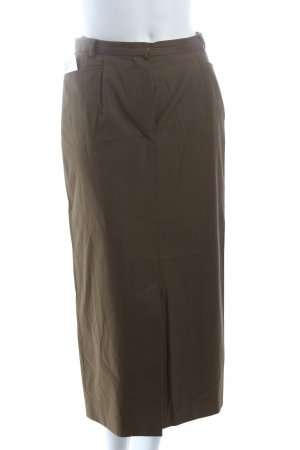 Windsor Spódnica midi oliwkowy W stylu biznesowym