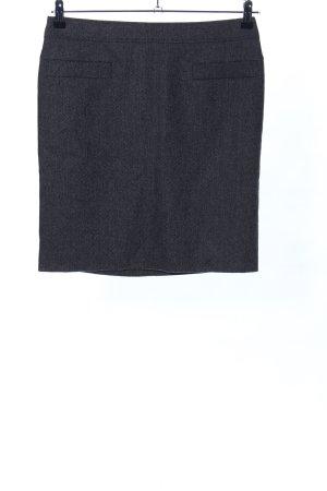 Windsor Minirock schwarz meliert Business-Look