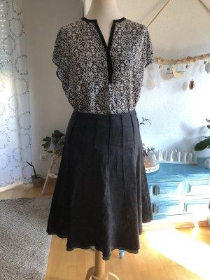 Windsor Falda de tafetán negro
