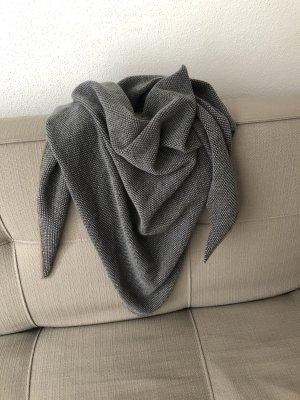 Windsor Schoudersjaal grijs-grijs-bruin Mohair