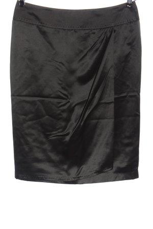 Windsor Seidenrock schwarz meliert Elegant