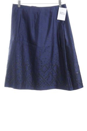 Windsor Zijden rok blauw elegant