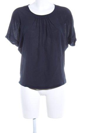 Windsor Seidentop blau Casual-Look