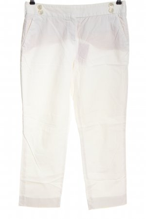 Windsor Jersey Pants white casual look