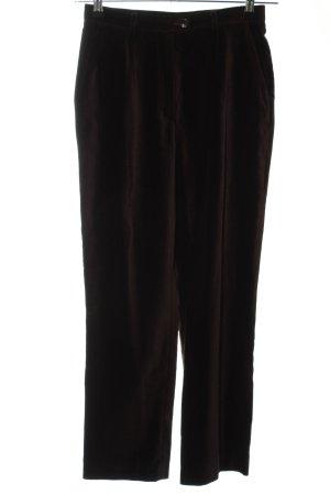 Windsor Stoffhose schwarzbraun-dunkelbraun Business-Look