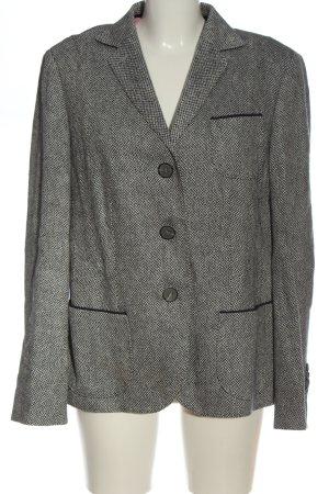 Windsor Blazer in maglia grigio chiaro puntinato stile casual
