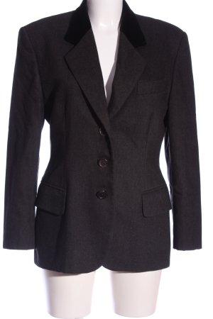 Windsor Blazer in maglia nero puntinato stile professionale