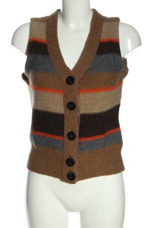 Windsor Gilet tricoté imprimé allover style décontracté