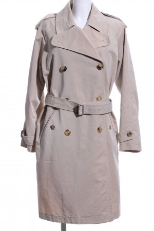 Windsor Trenchcoat wollweiß Business-Look