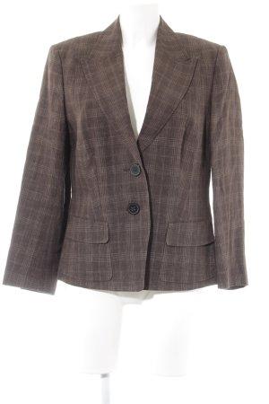 Windsor Tweedblazer graubraun-creme Karomuster Dandy-Look