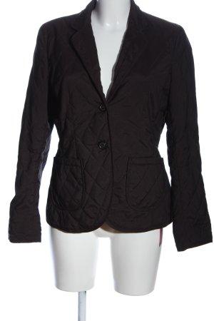 Windsor Kurtka przejściowa czarny Pikowany wzór W stylu casual