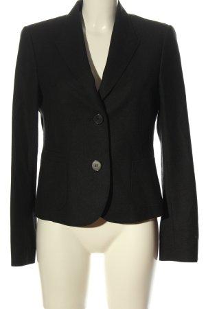Windsor Woll-Blazer schwarz Business-Look