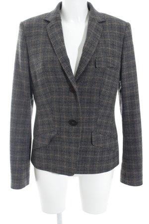 Windsor Woll-Blazer anthrazit-braun Casual-Look