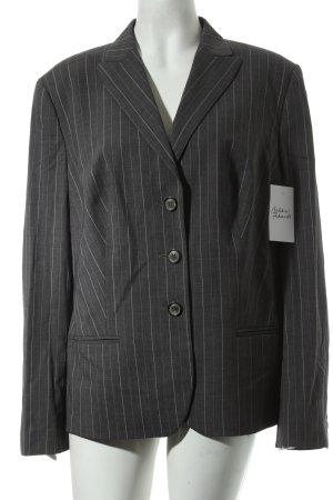 Windsor Wollen blazer grijs-wit gestreept patroon zakelijke stijl