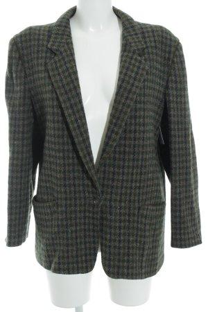 Windsor Blazer en laine motif à carreaux Boutons décoratifs