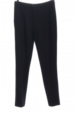 Windsor Woolen Trousers black casual look